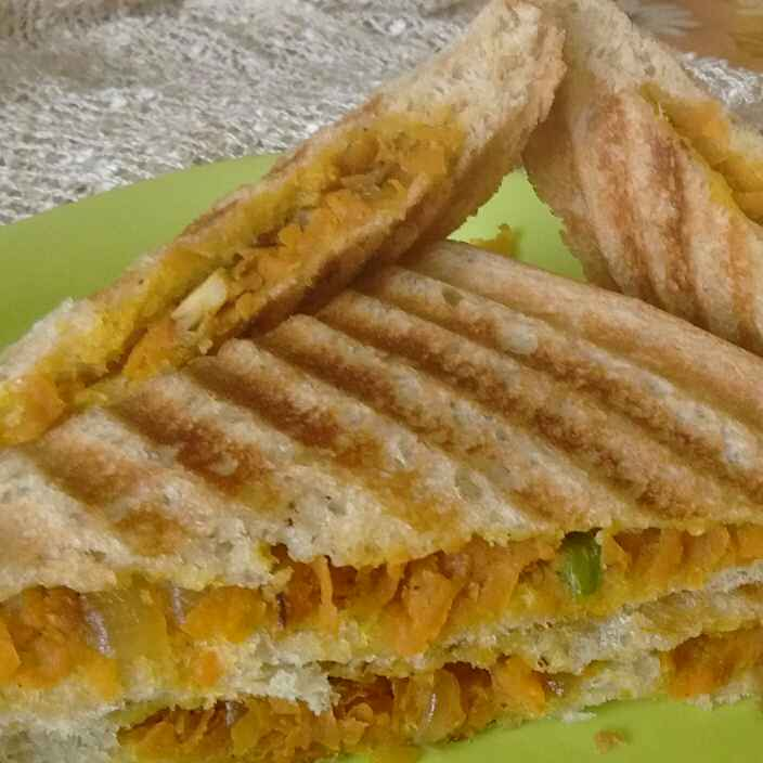 How to make Carrot Sandwich