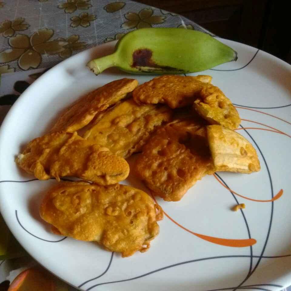 How to make Raw banana bajji