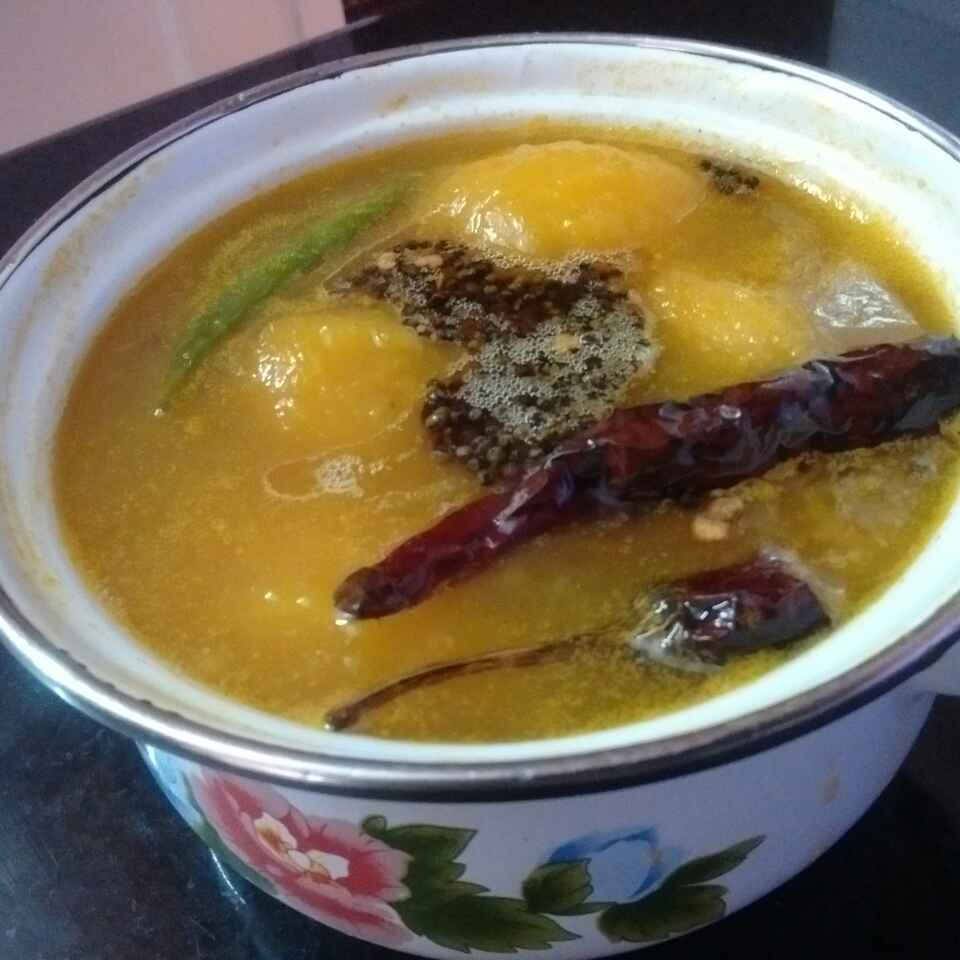 How to make Ripe mango curry