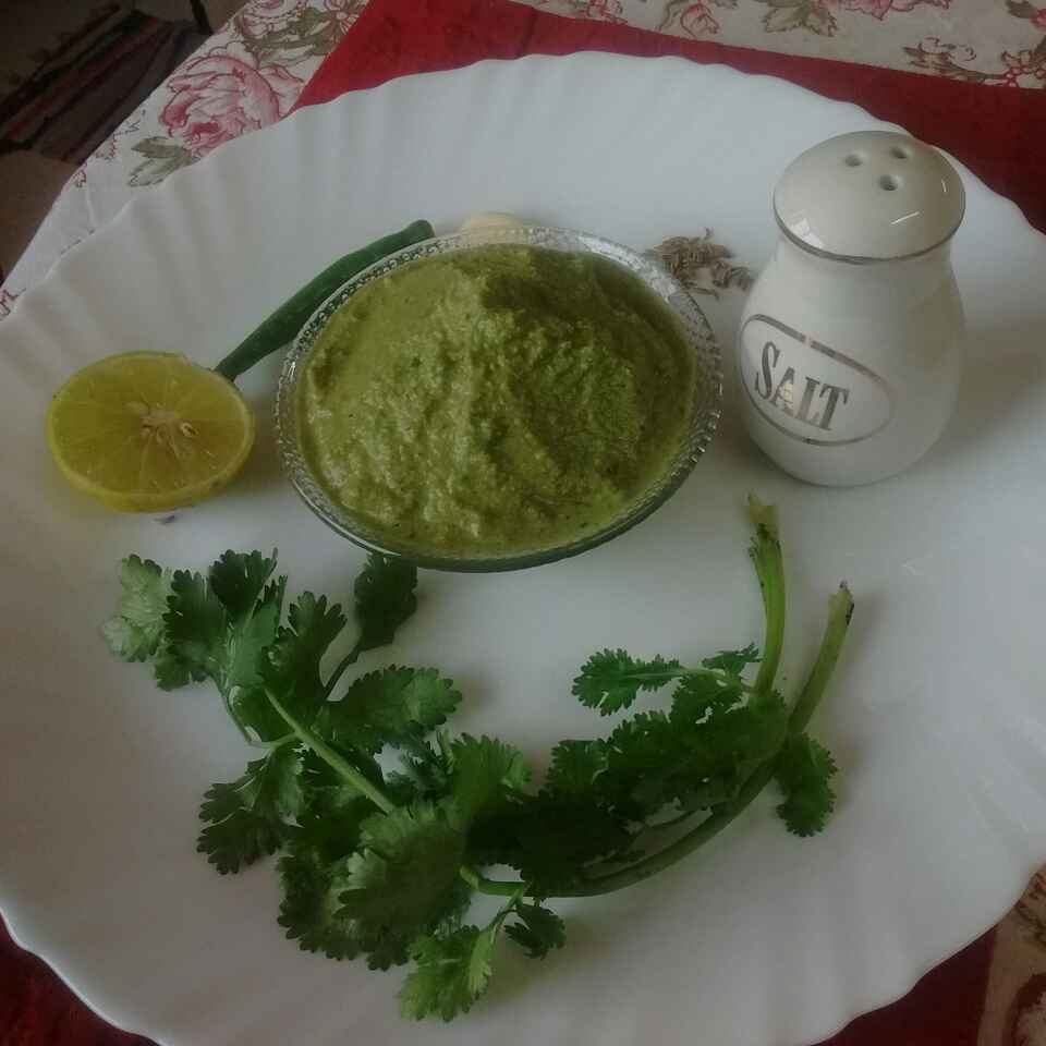 How to make Green chutney