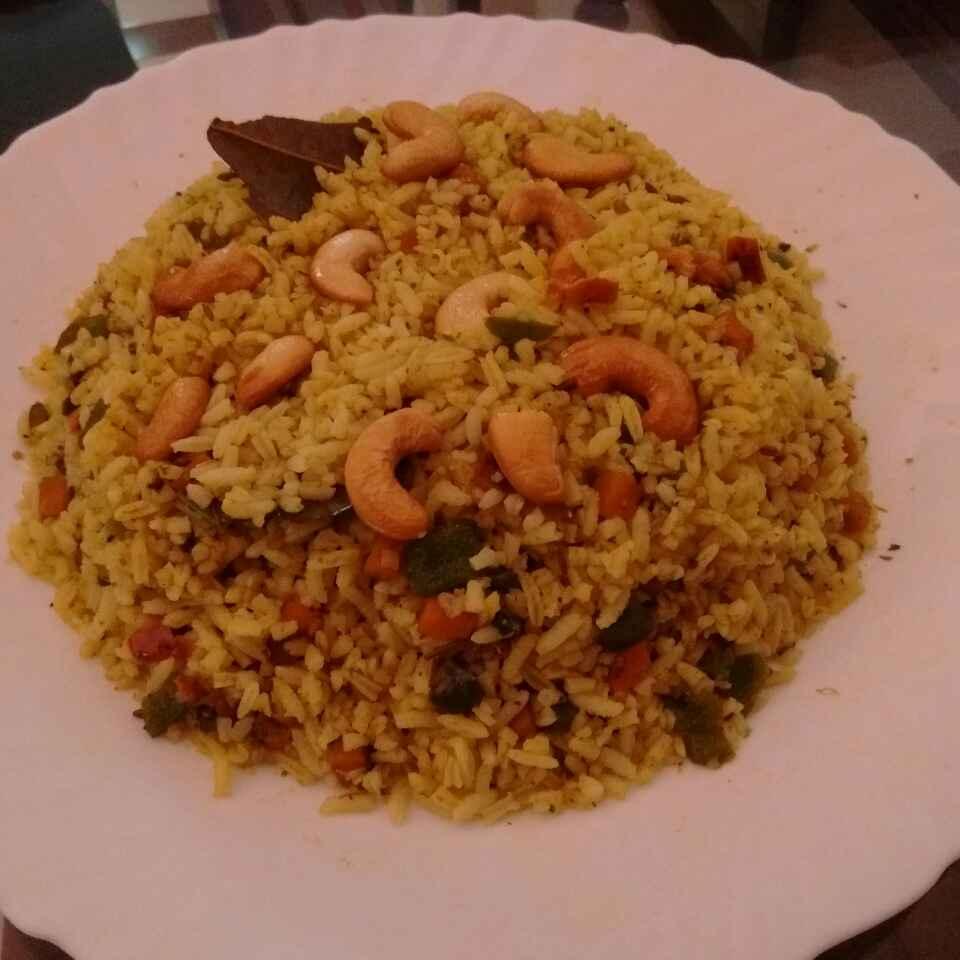 How to make No onion no garlic leftover rice masala rice
