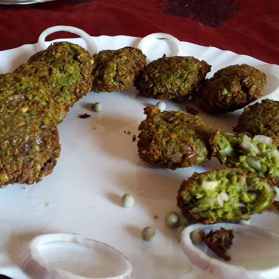 How to make Green peas vada