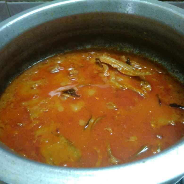 Photo of Dry fish kulampu by Shoba Jaivin at BetterButter