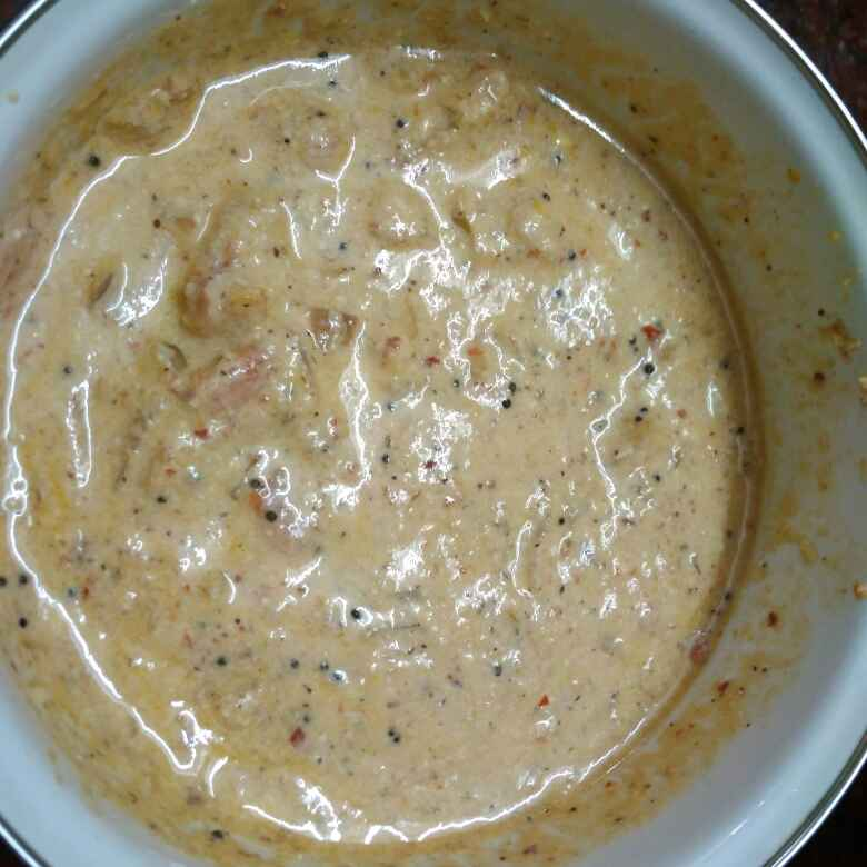 Photo of Yellow pongal, curd tomato chutney by Shoba Jaivin at BetterButter
