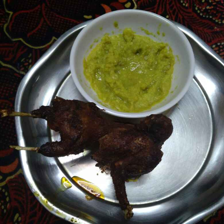 Photo of Spicy kaadai roast by Shoba Jaivin at BetterButter