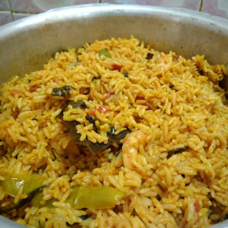 Photo of Spicy prawn briyani by Shoba Jaivin at BetterButter