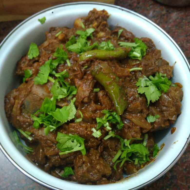 Photo of Mutton liver masala by Shoba Jaivin at BetterButter