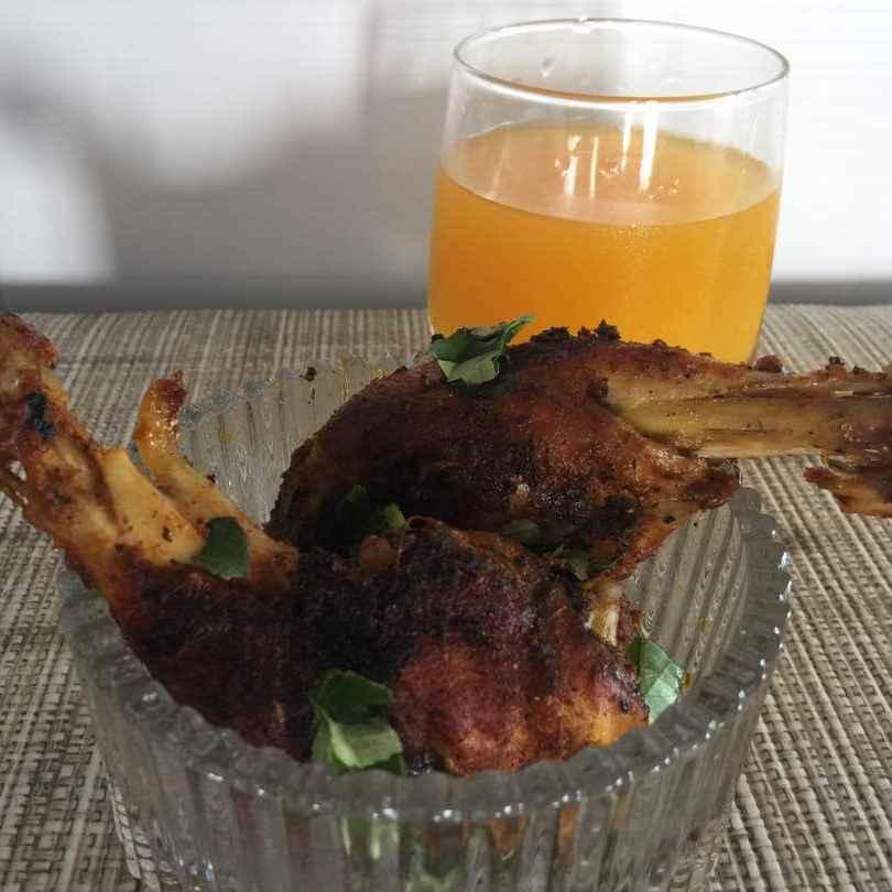 How to make Village style chicken leg piece fry