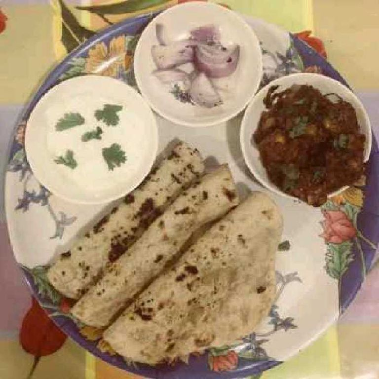 How to make North Indian roti meal
