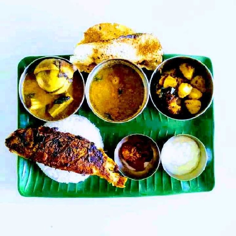 How to make South indian meal with fish fry