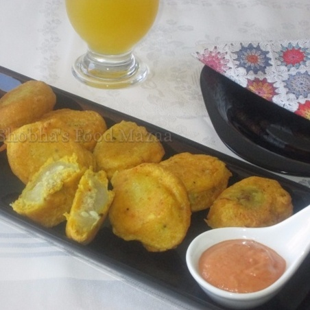Photo of Kantola/Teasel gourd pakodas Bengali style by Shobha Keshwani at BetterButter
