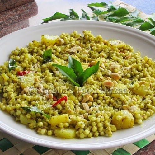 How to make SABUDANA KHICHDI WITH CURRY LEAVES MASALA