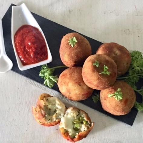 How to make ARANCINI / ITALIAN CHEESY RICE BALLS