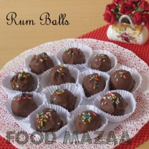 How to make RUM BALLS (Chocolate Coated)