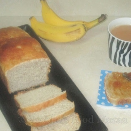 How to make YEASTED BANANA SANDWICH BREAD