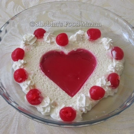 Photo of JELLY HEARTS DESSERT by Shobha Keshwani at BetterButter