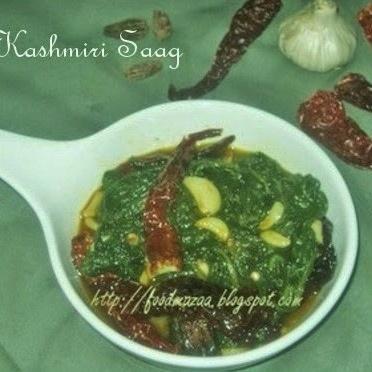 How to make KASHMIRI SAAG