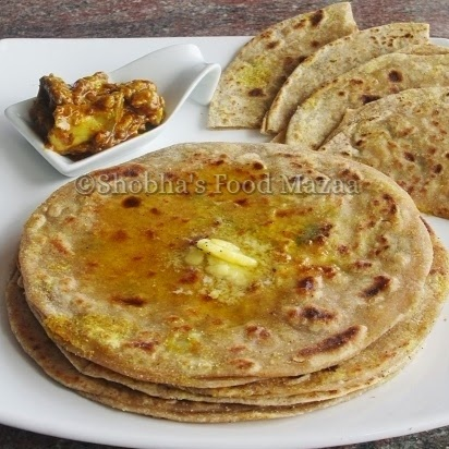 How to make ALOO PARATHA ( with flax seeds)