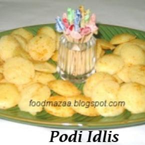 How to make PODI IDLIS