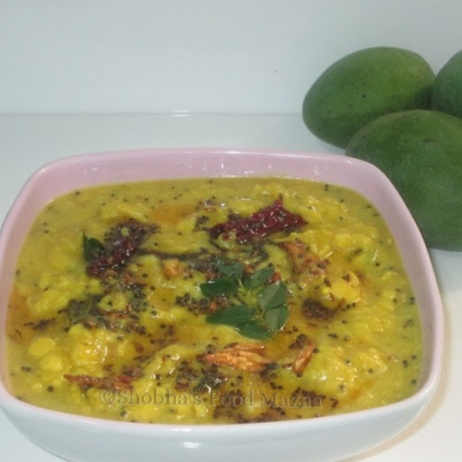 How to make MAMIDIKAYA PAPPU / RAW MANGO DAL (Andhra Style)