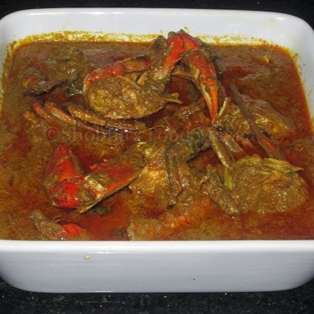 How to make CRAB CURRY GOAN STYLE