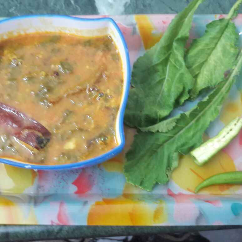 Photo of Daal with Radish leaf by Shobha.. Vrudhulla at BetterButter