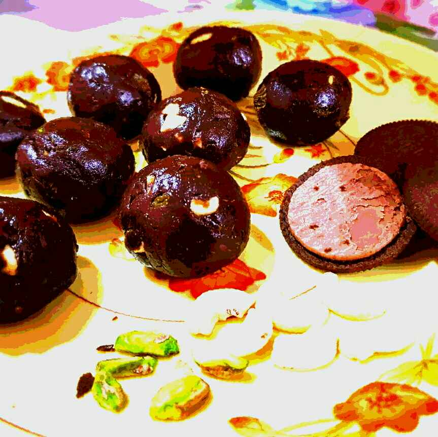 Photo of CHOCOLATE balls in CUSTARD by Shobha.. Vrudhulla at BetterButter