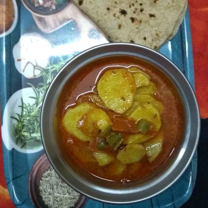 How to make आलू की सब्जी