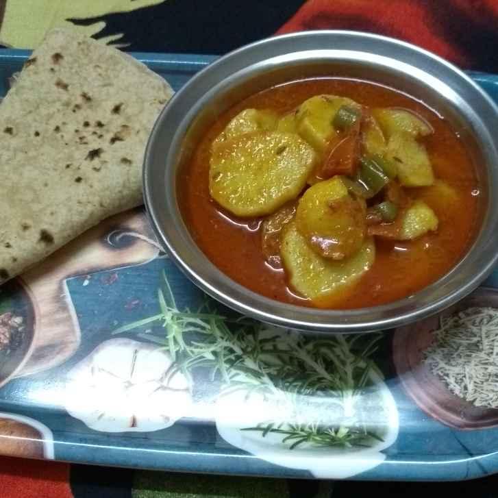 Photo of Aalu ki sabji by Shobha Vyas at BetterButter