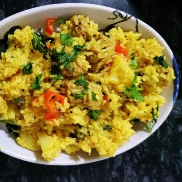 Photo of Soya chunks pulao by Shobha Vyas at BetterButter