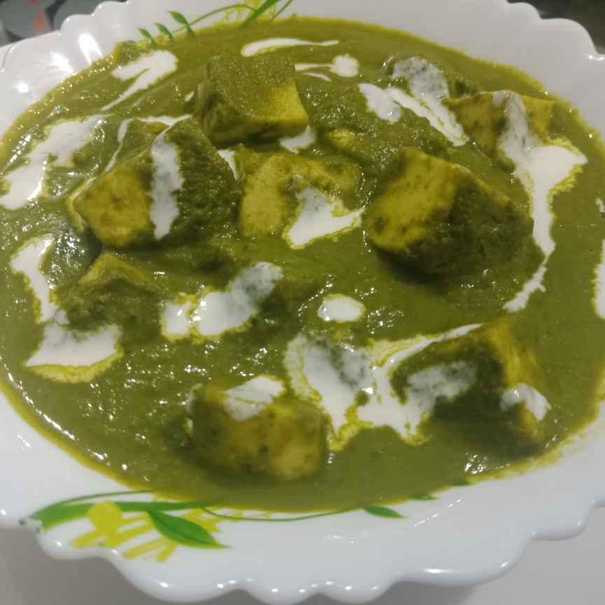 Photo of Restaurant style palak paneer by Shraddha gupta at BetterButter