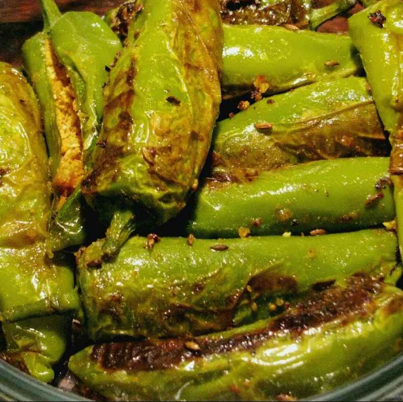 Photo of Stuffed Chilli Fry by Shraddha Juwatkar at BetterButter