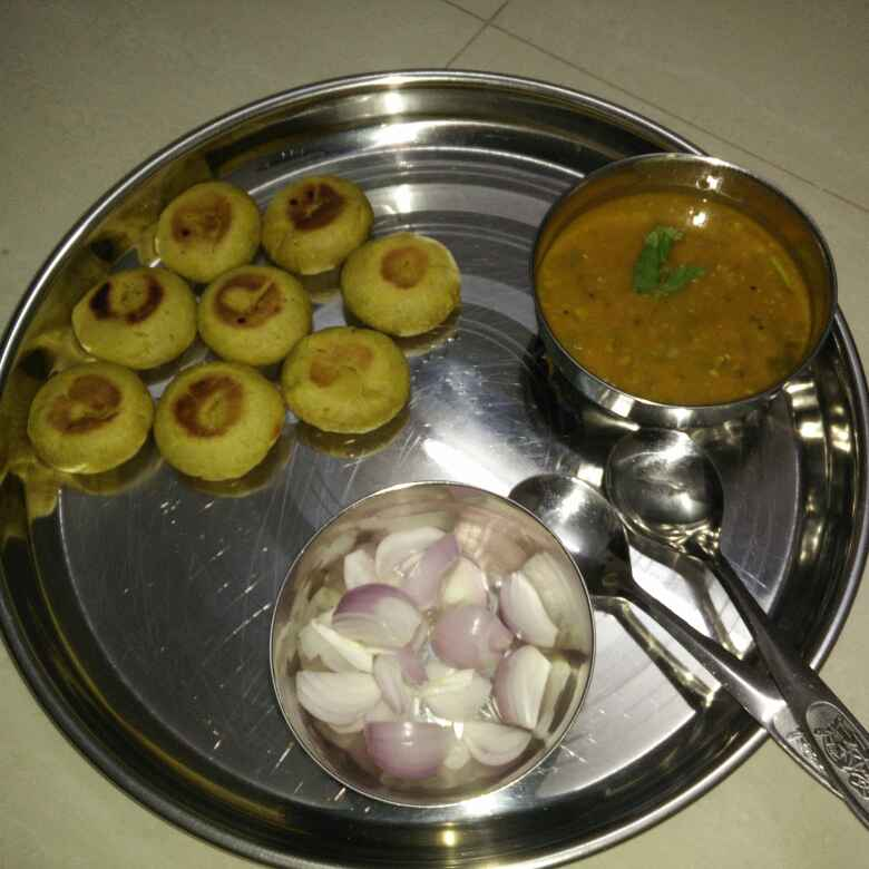 How to make દાલ-બાટી