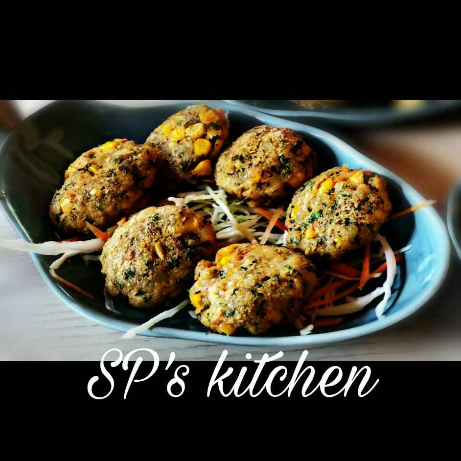 Photo of Corn Capsicum Patties by Shraddha Patel at BetterButter
