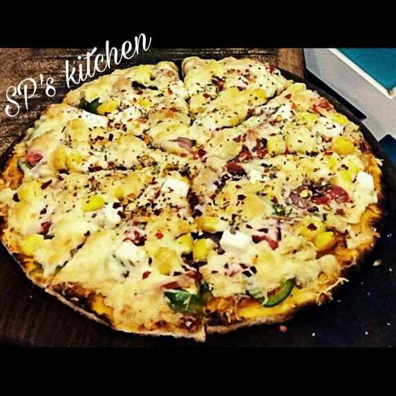 Photo of Bhakhri pizza by Shraddha Patel at BetterButter