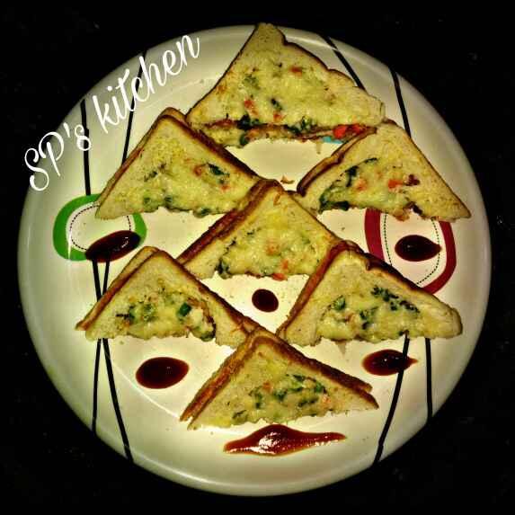 Photo of Veg creamy toast by Shraddha Patel at BetterButter