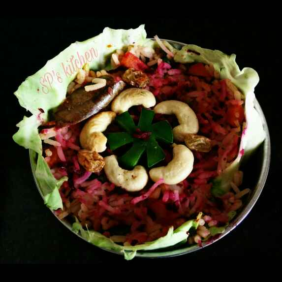 Photo of Beetroot pulao by Shraddha Patel at BetterButter