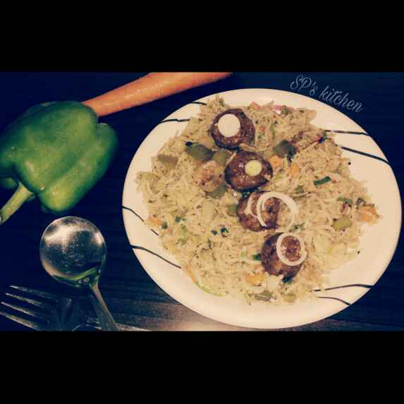 Photo of Manchurian fried rice by Shraddha Patel at BetterButter