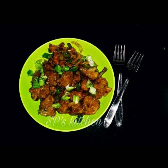 How to make રાઈસ મંચુરિયન