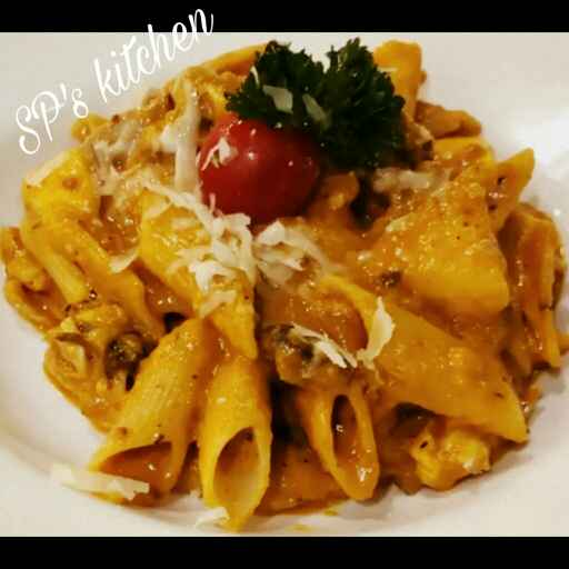 Photo of Pasta In Red Sauce by Shraddha Patel at BetterButter