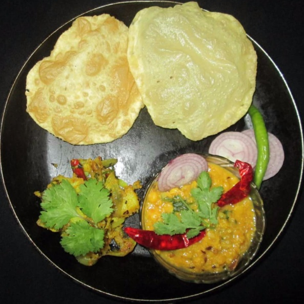 How to make Luchi Cholar Daal