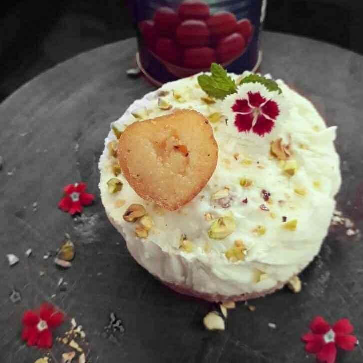 How to make Gulabjamun cheesecake