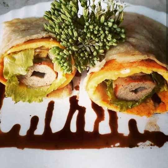 Photo of Seekh kabab wrap by Shraddha Tikkas at BetterButter