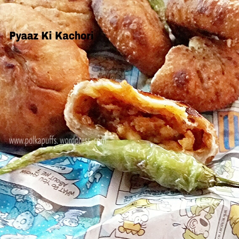 How to make Pyaaz ki Kachori