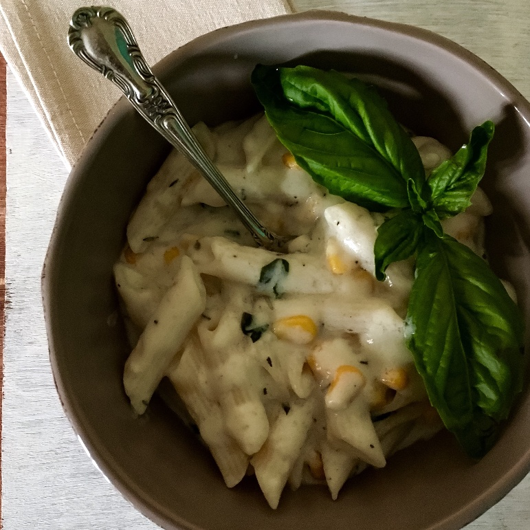 How to make Penne In Basil And Lemon Cream Sauce