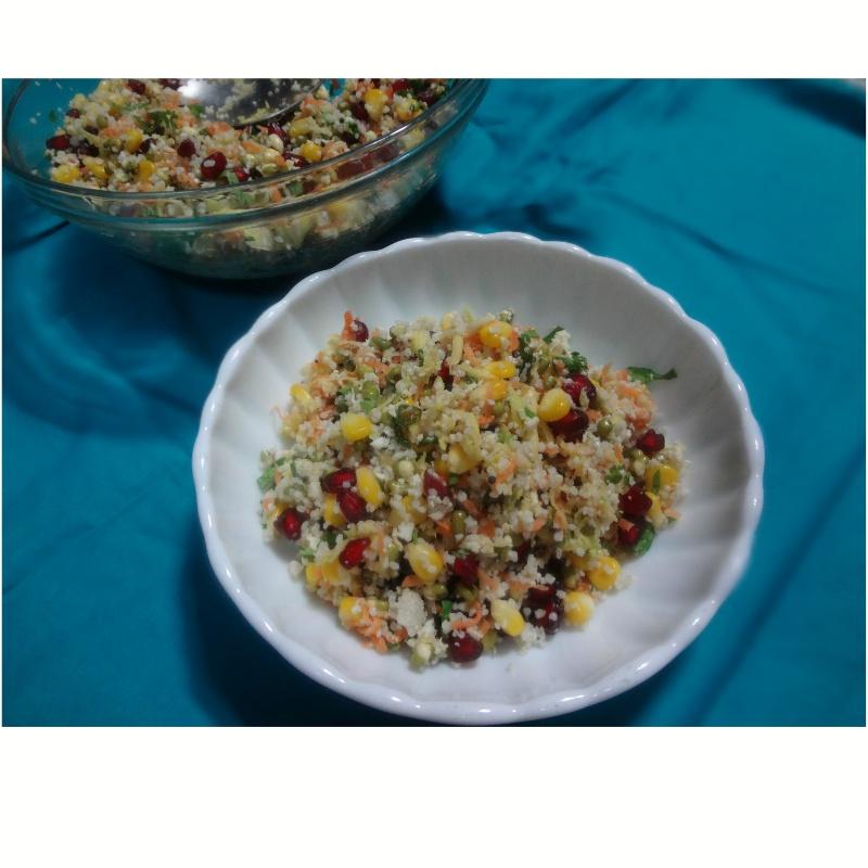 How to make Millet salad