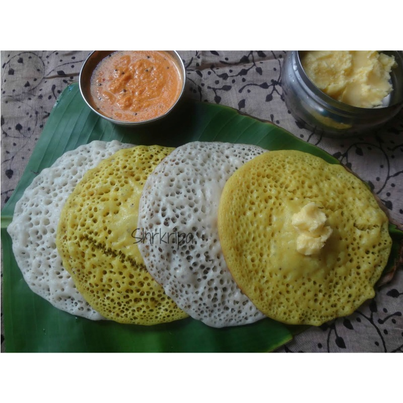 How to make Surnoli  (Bread dosa/ Buttermilk dosa)