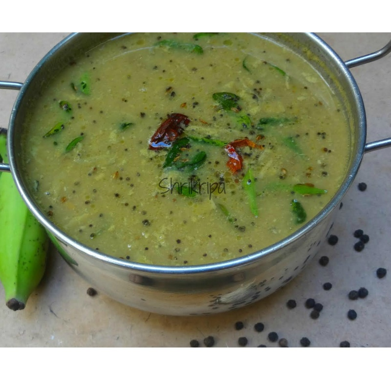 Photo of Raw Plantain Pepper Curry by Shri Kripa at BetterButter