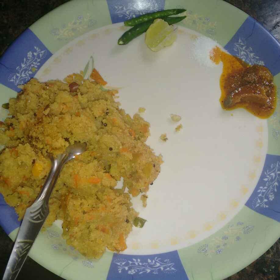 Photo of Upma by Mrs. Shruti Awasthy at BetterButter