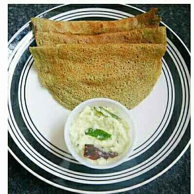 How to make Moong Dosa / Green Gram Dosa